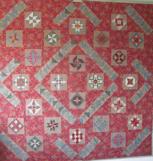 A different lay out for Penny Haren blocks
