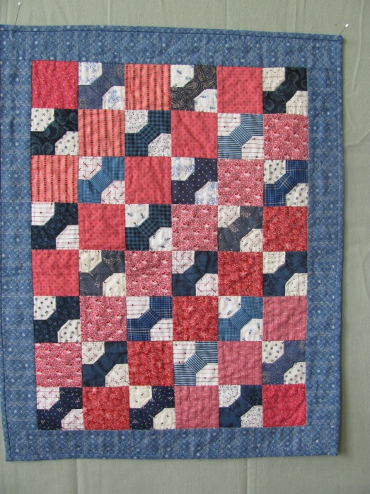 Turn of the Century doll quilt