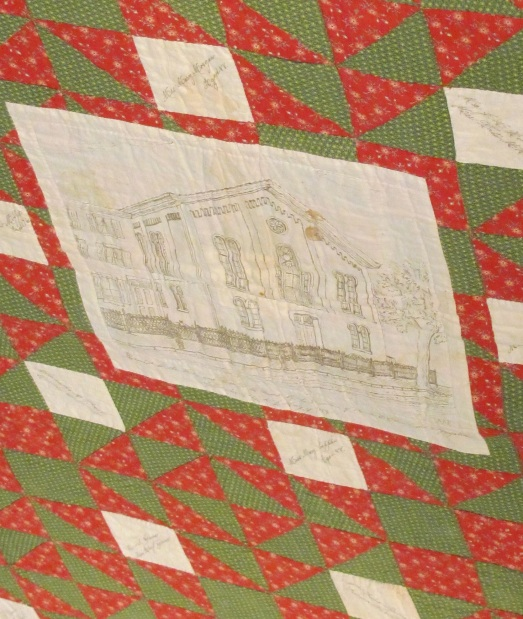 Church on Album Quilt