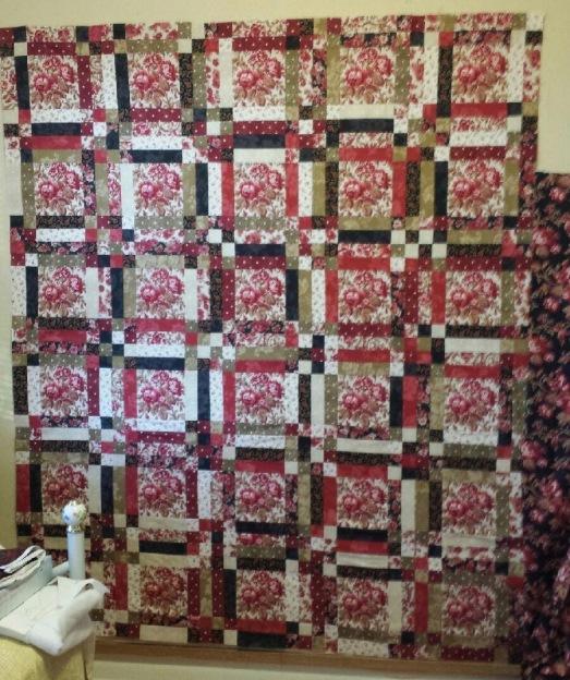 Linda's quilt top